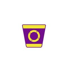 Bin recycle Icon vector image