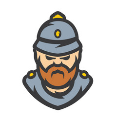 british policeman cartoon vector image
