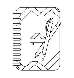 corporate visual identity cartoon vector image
