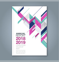 Cover annual report 1021 vector