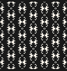 ornamental pattern in ethnic style folk texture vector image