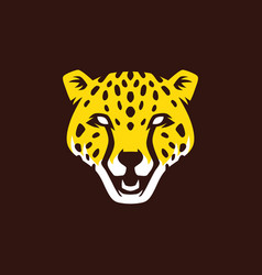 Panther head logo icon vector