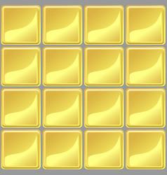 yellow tiles texture seamless vector image