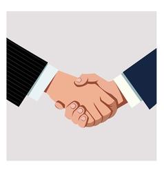 Business handshake vector