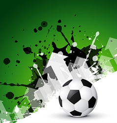 abstract background of football vector image