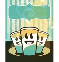Hot Beverages vector image vector image