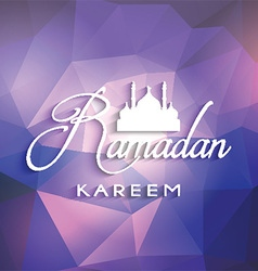 ramadan background 1105 vector image vector image