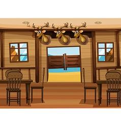 A saloon bar vector
