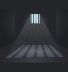 Prison bars cell vector