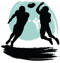football players vector image vector image