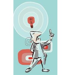 Idea Guy vector image