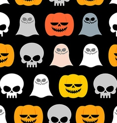 Seamless pattern for Halloween Background of the vector image vector image