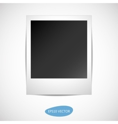 Photo Frame with shadow vector image vector image