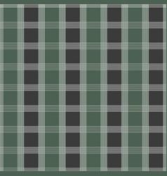 seamless tartan pattern green and grey kilt vector image vector image