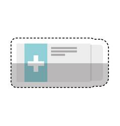 Medicine tab isolated icon vector
