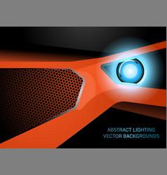 Abstract lighting vector