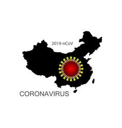 Coronavirus icon 2019-ncov novel vector