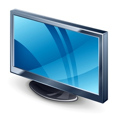 Display tv vector