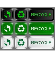 Eco keys vector