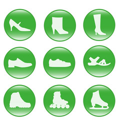 Foot-wear - web icons vector