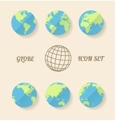 global set vector image