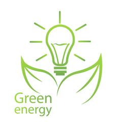 green energy eco certification vector image