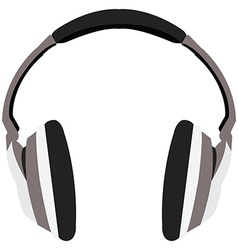 Isolated headphones vector