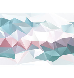 Low poly abstract vector