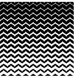 Monochome patten smooth zigzag lines vector