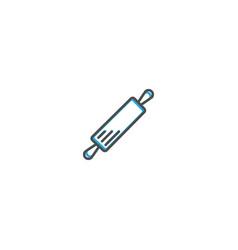 Rolling pin icon design gastronomy icon vector