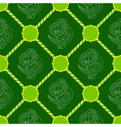 Seamless background with Celtic art vector