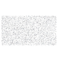 silver polka dot small confetti on white vector image