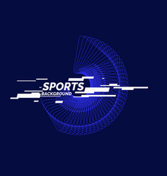 Sports poster abstract background vector