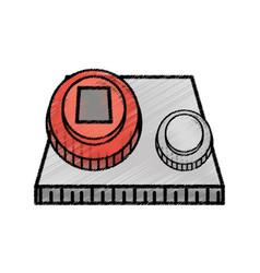 Start power system sketch vector