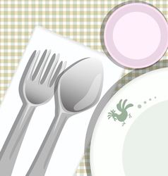 Meal Background vector image vector image