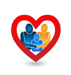Family union logo vector image vector image