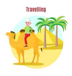 Summer vacation template vector