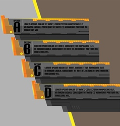 Black Modern Technology Design Template vector image