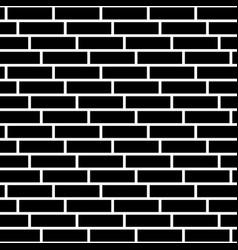 Brickwall stone wall repeatable pattern vector