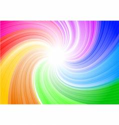 color twist vector image