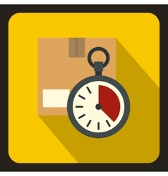 Deadline concept flat style vector