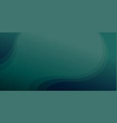 Deep teal gradient color background with dark vector