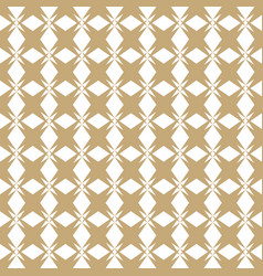 Gold and white seamless pattern in asian style vector