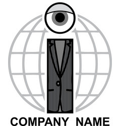 Letter i logo vector