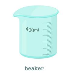 measuring cup icon cartoon style vector image