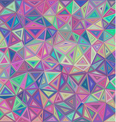 Retro irregular triangle mosaic background vector