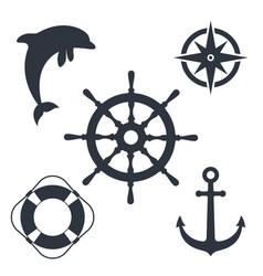 sea journey vector image