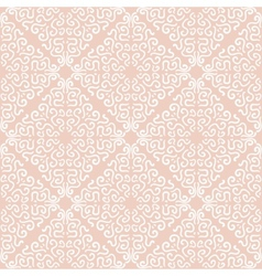 White curly graphic pattern on light background vector