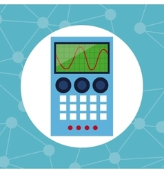 electronic element laboratory chemistry vector image