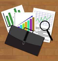 Analysis of stock market statistics vector